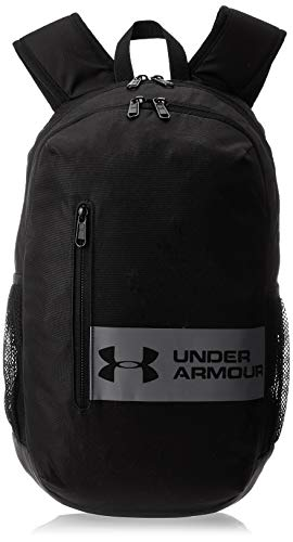 Under Armour UA Roland Backpack Mochila, Unisex, Negro (Black/Black/Steel), Talla única