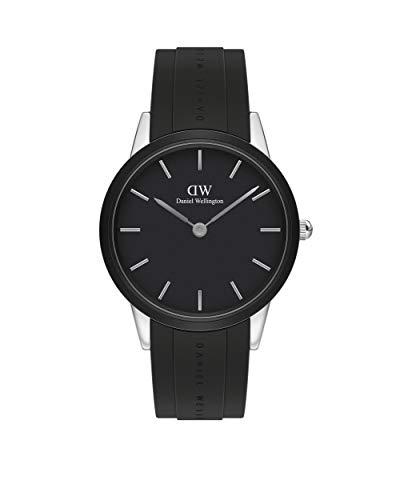 Reloj Daniel Wellington Iconic Motion Silver Black 40mm DW00100436