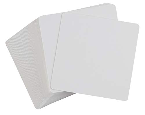 Blank Flash Cards, Index Cards (3.125 x 3.125 in, 400 Pack)