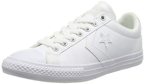 Converse Lifestyle Star Player Ev Ox, Zapatillas Unisex niño, Blanco (White/White/White 100), 38.5 EU