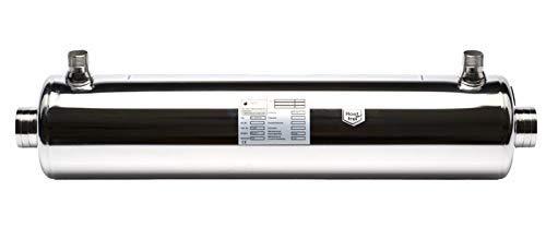 well2wellness® Dapra Wärmetauscher 175kW in Edelstahl