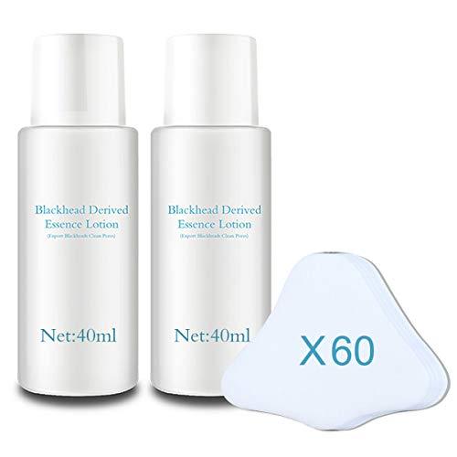 HeomBliss Mitesserentferner Essenz, Porenwasser reinigen zur Hautverfeinerung und Mitesser Entferner, Nase, Kinn