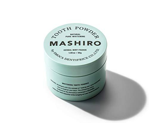 MASHIRO ましろ 薬用 ホワイトニング パウダー 30g 【 歯を白くする 】 医薬部外品