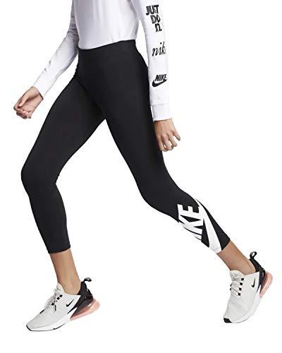 Nike Damen W NSW LEGASEE LGGNG 7/8 FUTURA Pants, schwarz - weiß, M