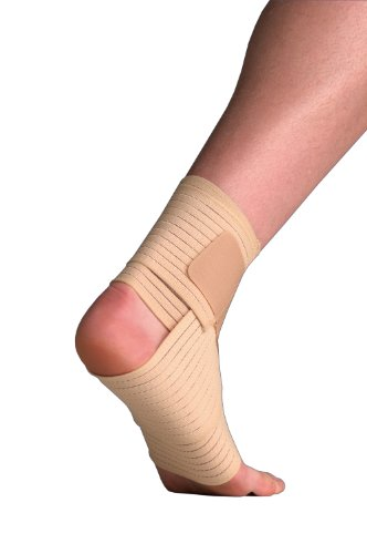 Thermoskin Elastic Ankle Wrap Support Small Medium 17-24cm