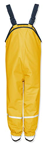 Playshoes Kinder Regenlatzhose, Gelb, 98