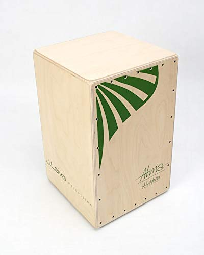 J.Leiva Percussion ALMA GREEN Cajón