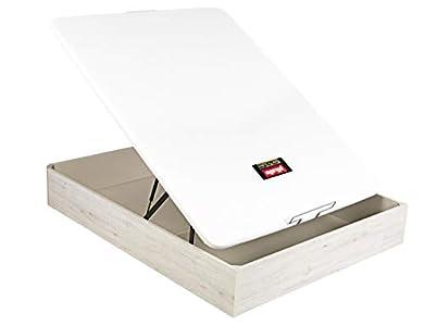 PIKOLIN Canapé/Abatible NATURBOX Color Glaciar (Base de Madera para colchón con Almacenamiento/Wooden Base for Mattress with Storage) Altura: 32 cm. (150x190 cm)