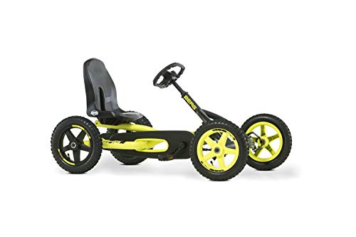 BERG Gokart Buddy Cross | Kinderfahrzeug, Tretauto mit Optimale Sicherheid, Luftreifen und Freilauf, Kinderspielzeug geeignet für Kinder im Alter von 3-8 Jahren