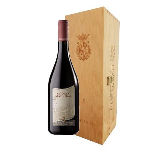 Cuvèe'Chorus Madrigal' - DOC Alto Adige Merlot - Cabernet Castel Sallegg (1 bottiglia in cassa legno Jeroboam 3 litros)