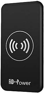 Wireless Power Bank by FAD Power, 10000 mAh, Black