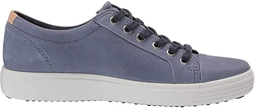 ECCO Men's Soft 7 Sneaker, Ombre/Powder Nubuck, 44 M EU (10-10.5 US)