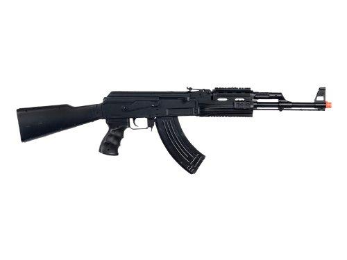UKARMS P48 Airsoft Gun Tactical AK-47 Spring Rifle with Flashlight FPS 250