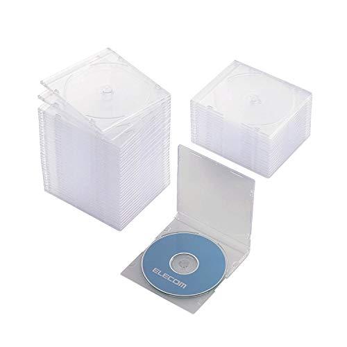 エレコム DVD CDケース プラケース スリム 1枚...