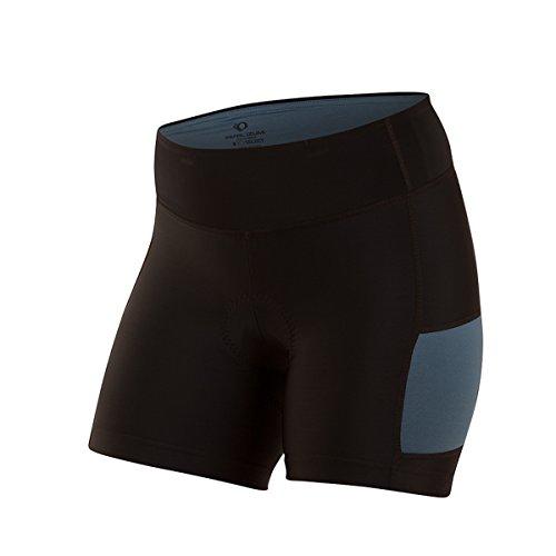 PEARL IZUMI Damen-Shorts Escape Sugar Medium Black/Blue Steel