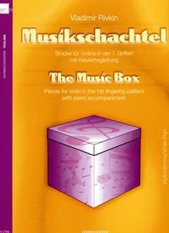 Musikschachtel - arrangiert für Violine - (+Klavier) [Noten / Sheetmusic] Komponist: Rivkin Vladimir