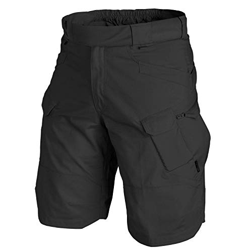 Helikon-Tex URBAN Tactical Shorts 11 - Polycotton Ripstop SCHWARZ XL/Regular