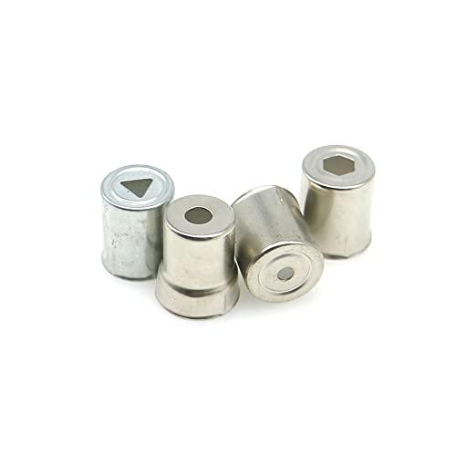 VSLIFE 5 uds Tapa de magnetrón de Horno de microondas para Panasonic Glanz Midea microondas Orificio pequeño Piezas de Tapa de magnetrón de Horno de microondas Durable