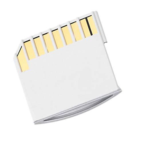 uu19ee Micro SD TF a Kit de Tarjeta SD Mini Adaptador Diseño de Almacenamiento Adicional para Macbook Air/Pro/Retina