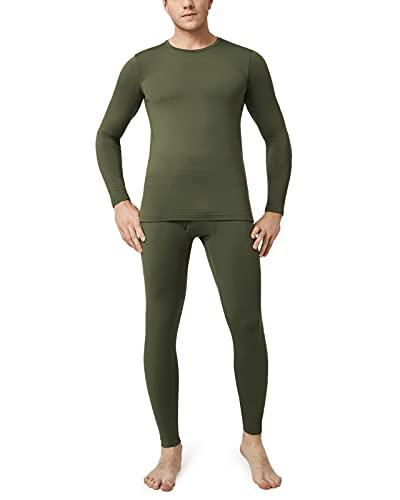 LAPASA Set de Ropa Térmica para Hombre. -Brushed Back Fabric Technique- M11/M57 (S, M11-LIGERO:...