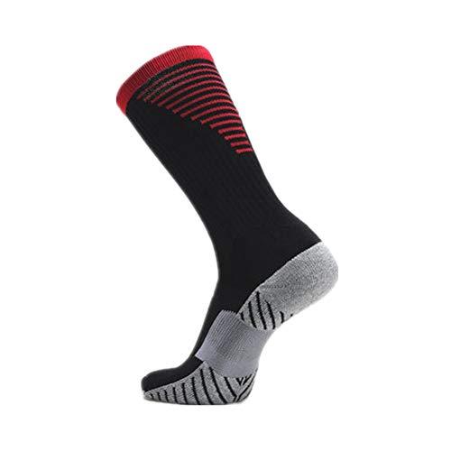 YWRD calcetines ciclismo hombres calcetines antideslizante hombre Calcetines negro de los hombres Calcetines de los hombres Mens deportes Calcetines red,m