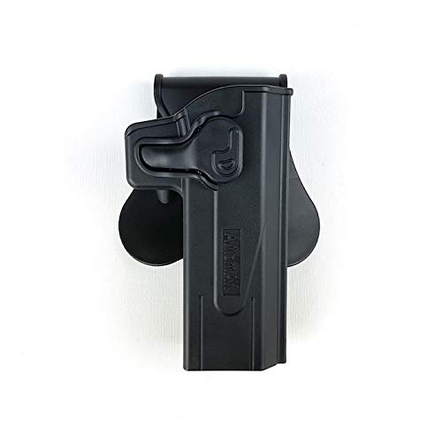 Amomax ホルスター AM-HCPG2 Black 適用モデル:STI 2011,マルイ/WE/KWA/KJW ハイキャパ