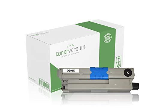 Toner compatibel met Oki 44973536 zwart voor C301 C301dn C321dn MC332dn MC342 MC342dn MC342dnw laserprinter zwart