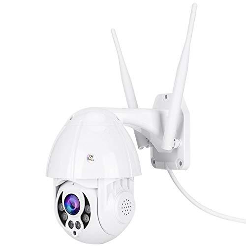 Cámara de Seguridad PTZ, cámara Domo HD 1080P para Exteriores, cámara de vigilancia inalámbrica IP de 2,5 '', con(U.S. regulations)
