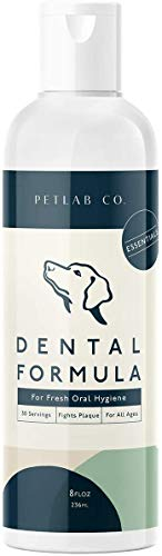 Petlab Co. Dental Wash | Dog Mouthwash & Teeth Cleaner | Dental Water Solution, Targets Plaque & Tartar | Maintains Clean Teeth & Supports Gum Health & Fresh Breath (1-Pack)