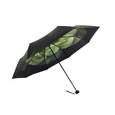 Best Deals! WWQY Folding Umbrella Lady , light green