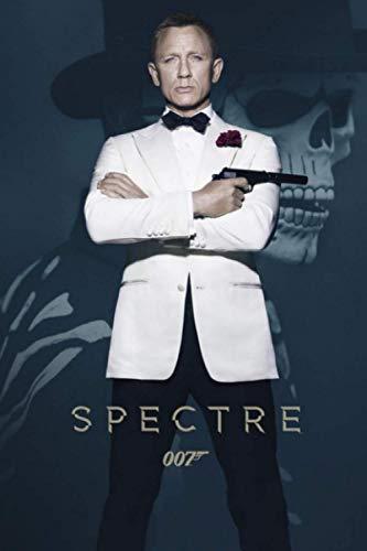 Spectre: Spectre Movie   Spectre James Bond Film   Wonderful Notebook Diary   James Bond 007 Cute Journal Gift