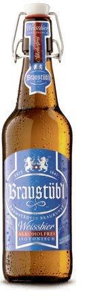 Braustüb'l Weissbier alkoholfrei 30 Flaschen x0,5l