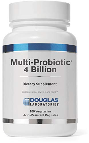 Douglas Laboratories - Multi-Probiotic 4 Billion - Support for Gastrointestinal and Immune Health - 100 Capsules