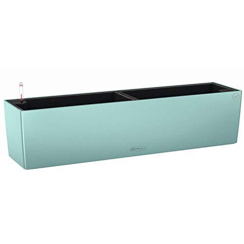 Lechuza Balconera Color 80 15705 Pflanzgefäß für Innen- und Außenbereich, Pastellgrün