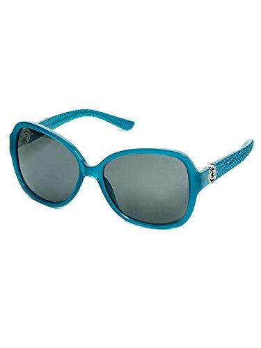 Guess Sunglasses Gf0275 87A 58 Gafas de sol, Turquesa (Türkis), Mujer