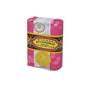 BEE & FLOWER BRAND Original Chinesische Seife ~ Rosen Duft 81g