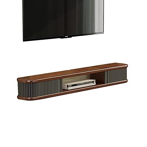 Peakfeng Gabinete de televisión Industrial de 47.2/55.1 Pulgadas, Caja de gabinete de TV montada en la Pared, Caja de Entretenimiento, Consola Central (Color : B, Size : 140CM)