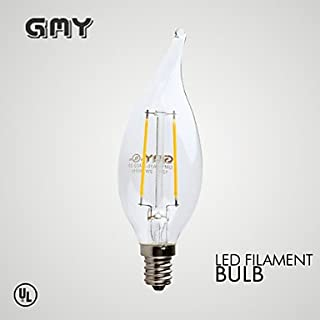 Halco CA10 4.5W 2200K DIMMABLE Amber Filament E12/ Set of 20