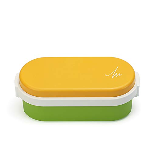 ジェルクール(Gel-Cool) ランチバッグ マンゴーイエロー×アスパラガスグリーン 容量: 600ml #905