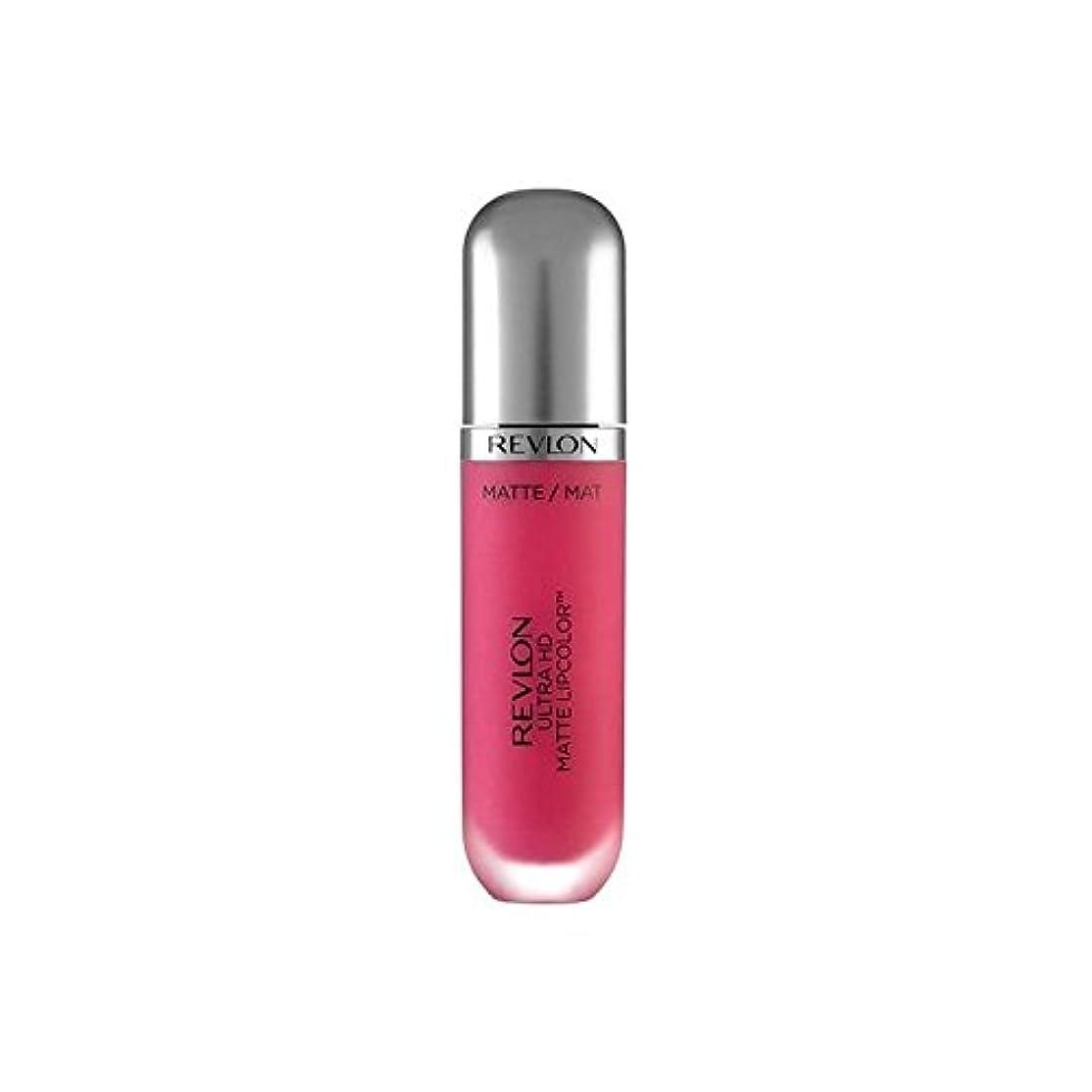 調査ピジンぶら下がるRevlon Ultra HD Matte Lipstick Obsession 5.9ml - レブロンウルトラマット口紅の強迫観念の5.9ミリリットル [並行輸入品]