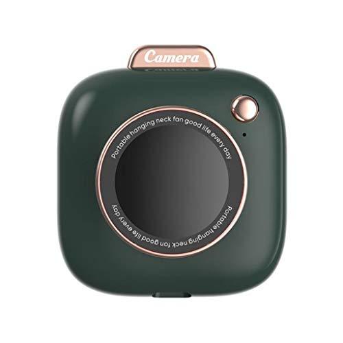 ColourQ - Ventilador de cuello para colgar personales, portátil, recargable, USB, para niña, mujer, hombre, viajes al aire libre