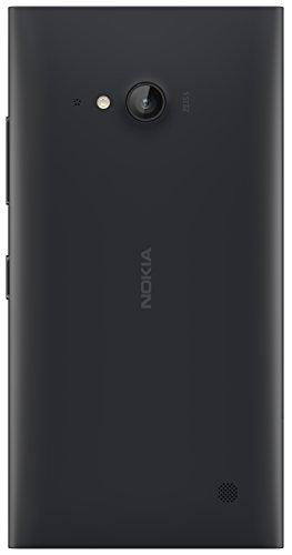 Preisvergleich Produktbild Nokia CC-3086 Wireless Qi Charging Clip-On Hard Shell Hülle Case Cover mit Ladefunktion für Nokia Lumia 735 - Dunkelgrau