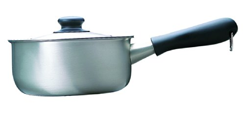 柳宗理 日本製 片手鍋 18cm ガス火専用 ステンレス つや消し