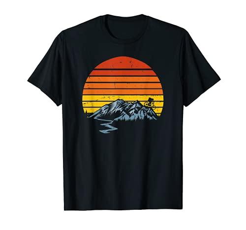 Maillot BTT Mountain Bike Downhill Vintage Sunset Enduro XC Cam