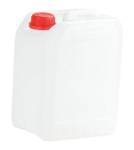 hünersdorff 426201 Industrie-Kanister 5 Liter, HD-PE, naturfarben