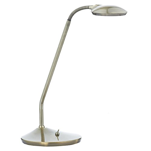 Dar Wellington - Lámpara de escritorio (latón envejecido)
