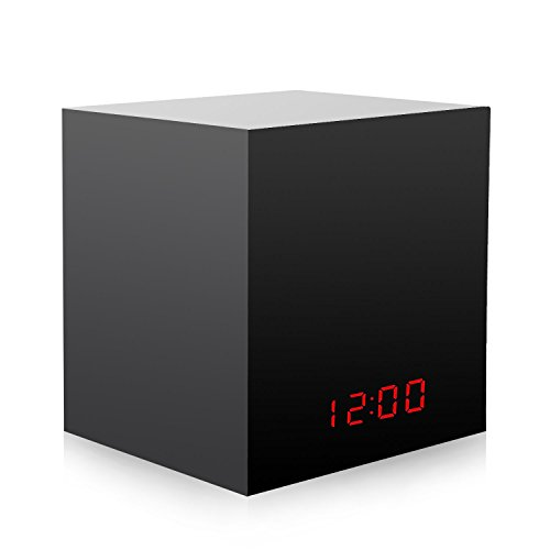 LED Clock Black Box Hidden Enclosure Turn Nest Cam/Dropcam/GoPro Hero 4, Hero 5, Session Into a Spy Camera by Gisveate (Fits All Cameras Such as Nest/Dropcam/GoPro/etc.)