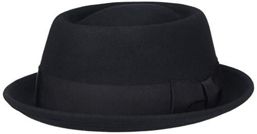 Bailey Darron Chapeau Porkpie, Noir - Noir, Large Homme