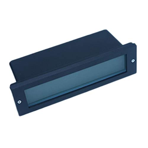 Lightshao Led-voetlamp, ingebed voor buiten, waterdicht, hoekig, trap, plank, road vroeger, 6 W