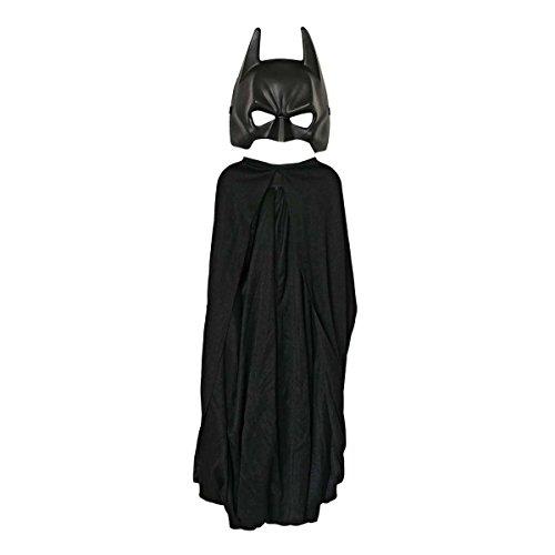 Rubie's-déguisement officiel - Batman -Costume 2 pièces Batman The Dark Knight Rises, cape et masque - Taille enfant- I-5482